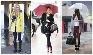 20 Outfits para du00edas lluviosos