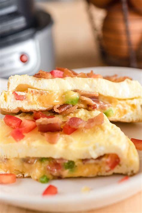 images  breakfast sandwich maker recipes