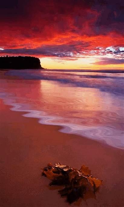 Sunset Sunrise Animated Amazing Nature Evening Wallpapers