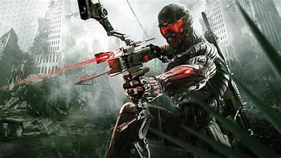 Pc Games Computer Soldier Artwork Crysis Mecha