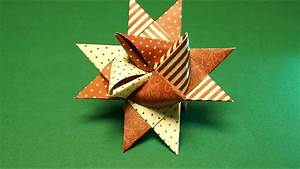 Stern Aus Butterbrotpapier Anleitung : fr belstern basteln zu weihnachten sterne falten youtube ~ A.2002-acura-tl-radio.info Haus und Dekorationen