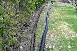 Comment Faire Un Drainage : drainage d 39 un terrain surplus d 39 eau ~ Farleysfitness.com Idées de Décoration