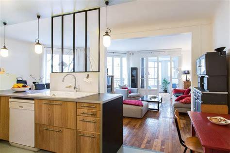 cuisine appartement parisien ce 92 m parisien était disposé en longueur avec plusieurs