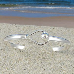 sterling silver tear drop small ball bracelet
