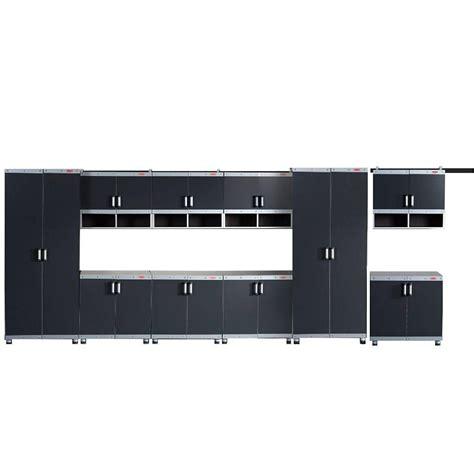 rubbermaid storage cabinets home depot rubbermaid fasttrack garage laminate 10 piece cabinet set