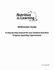 Webtracker Guide  U2013 How To  U2013 Program Coordinator Resources