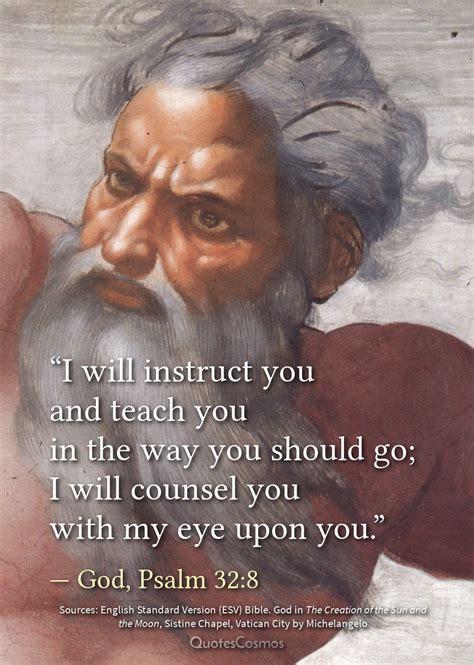 instruct   teach  psalm  quotescosmos