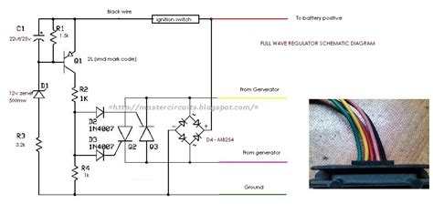 full wave regulator schematic techy at day at noon and a hobbyist at