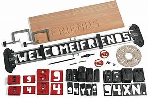 router letter template set lee valley tools With wood router letter templates