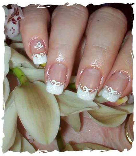 wedding nails design beautiful white wedding nails designs ideas
