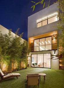 Immeuble Moderne  U00e0 San Francisco Avec Terrasse Design