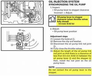 Ox66 225hp Oil Rod Adjustment Yamaha Spec