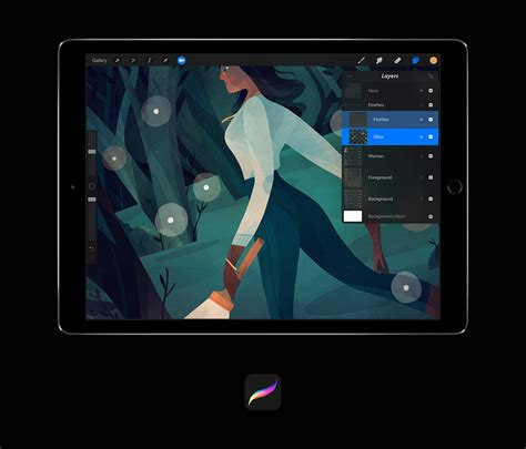 Procreate For Ipad Updated With Layers Of Improvements