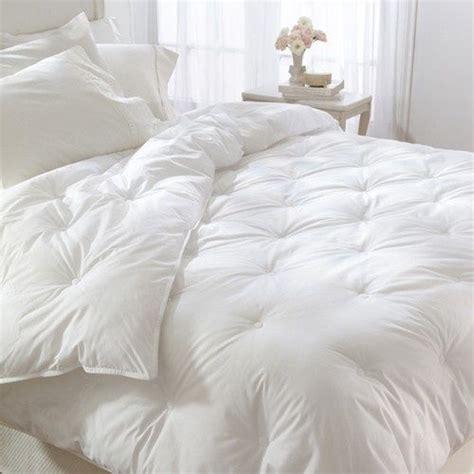 big fluffy white comforter