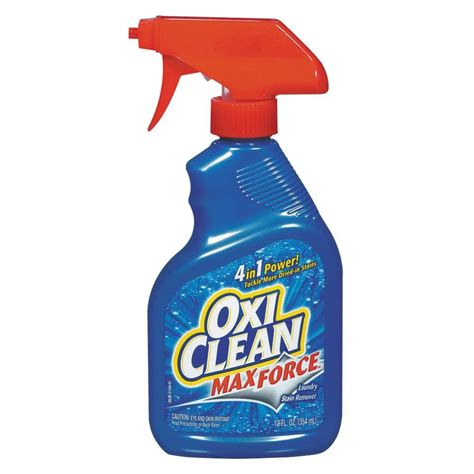 Stain Remover Products by Oxiclean 12 Oz Max Laundry Stain Remover Of