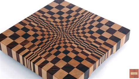 optical illusion cutting board cooking gizmos