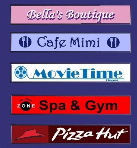 mod the sims five recolors of moghughson 39 s illuminated shop signs