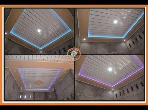 ide rumah cantik pemasangan plafon pvc terbaru variasi art