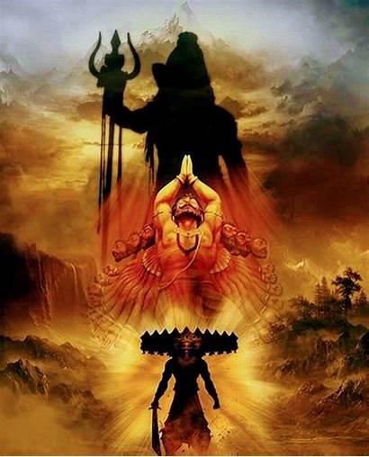 Mahadev Wallpapers Mahakaal Ravan Lord Shiva Cave
