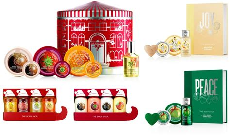 gift ideas for christmas from the body shop stylishly