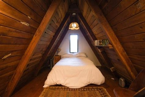 amazing tiny  frame cabin   redwoods