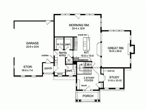 surprisingly separate garage plans awesome 4 bedroom 2 5 bath floor plan with large garage