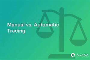 Cost Comparison  Manual Tracing Vs  Automatic Conversion