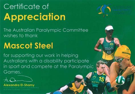 You can also watch the paralympics on the streaming platform 7plus. Community Work