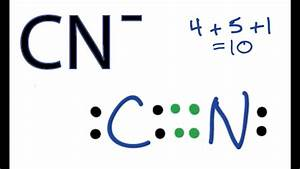 Cn- Lewis Structure