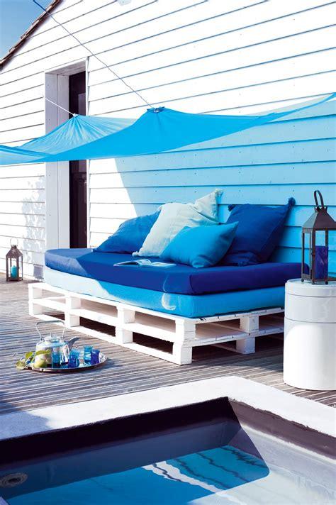 canape terrasse pas cher canapé lit matelas palettes de bois