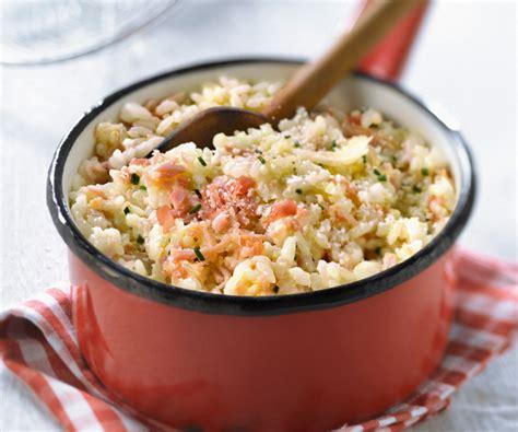 recette plat cuisiné plat traditionnel italien risotto aux deux jambons et au