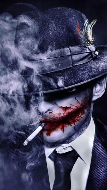 Joker Artwork Dc Comics Smoking Wallpapers Iphone