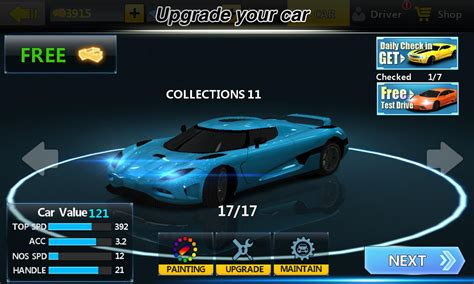 Free Racing Game For Android