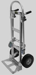 Aluminum Convertible Hand Truck: ACJ51-FF - Durastar Casters