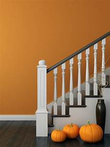 Painting Walls By A Staircase
