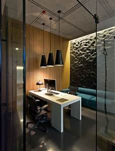 Modern minimalist office design with high ceiling and for Best floor lamp for dark office