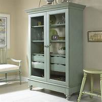 glass door cabinets Glass Door Display Cabinet Kitchen — Home Ideas Collection ...
