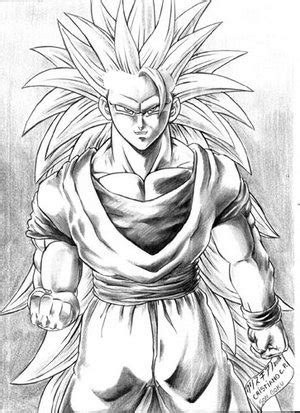 super sayain goku - picture by snoopsoup - DrawingNow