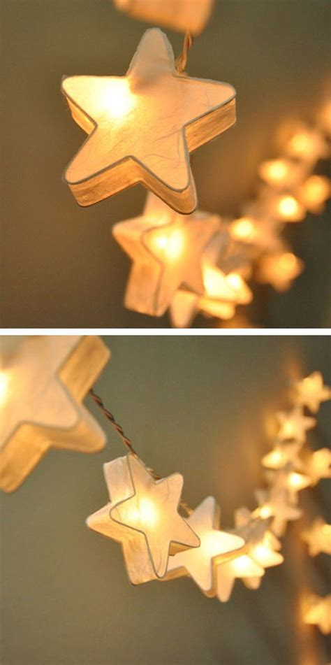 Star String Lights  Home Decorating Inspiration