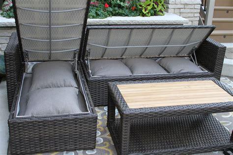 outdoor wicker sectional sofa set 3pc teak brown wicker sectional sofa set with