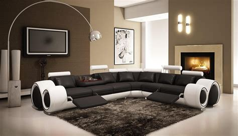 canapé de luxe italien cool designs with black and white living room for home