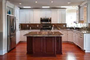 center island kitchen ideas custom center island kitchen end results kps