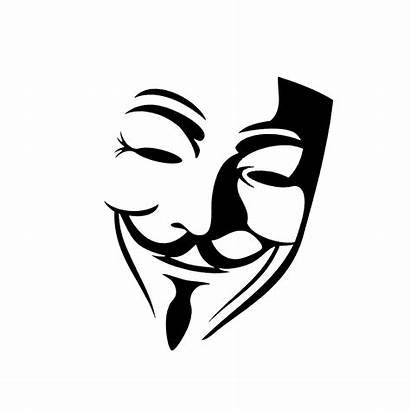 Decal Decals Vendetta Mask Silhouette Sticker Vinyl