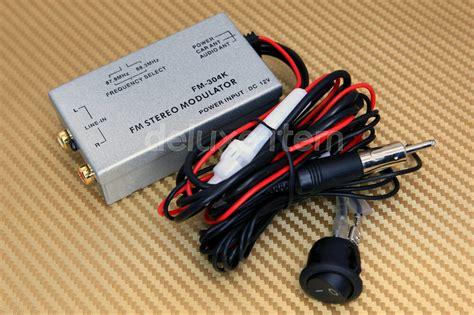 Car Radio Stereo Rca Aux Input Audio Adapter Fm Modulator
