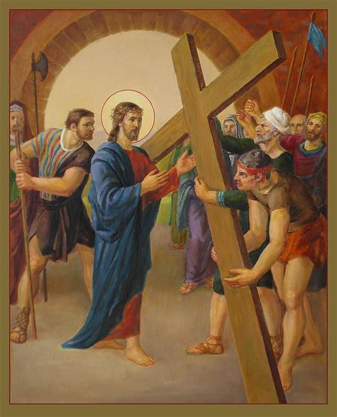 Modification Viar E Cross by Via Dolorosa 2 Stations Of The Cross Painting Via