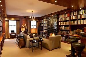 Impressive Luxury Home Libraries Design #7130