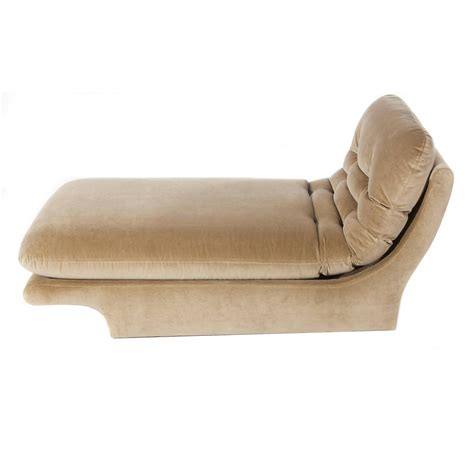 fully upholstered 1970s chaise lounge by preview furniture at 1stdibs