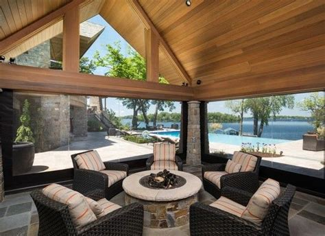 clear vinyl  retractable screens outdoor rooms phantom screens outdoor spaces