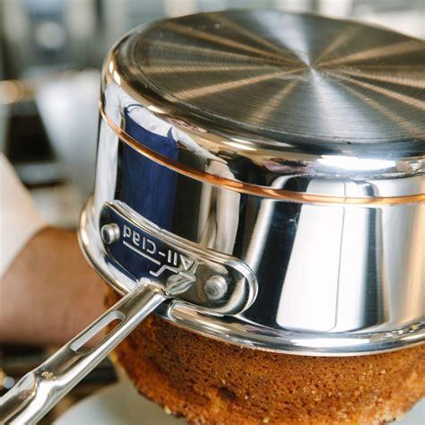 clad copper core  piece cookware set williams