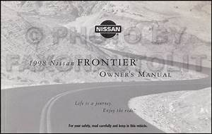1998 Nissan Frontier Owners Manual Original Oem Pickup